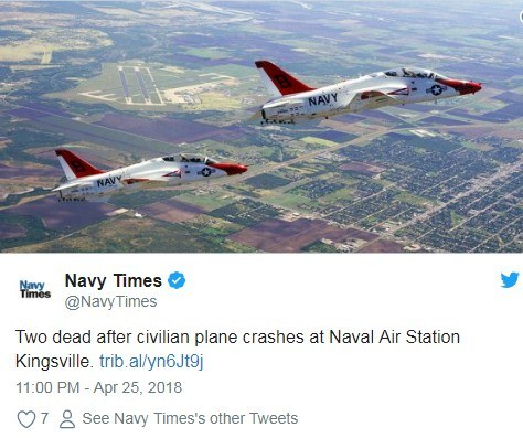 ВСША разбился военный самолет времен 2-ой мировой: двое погибших